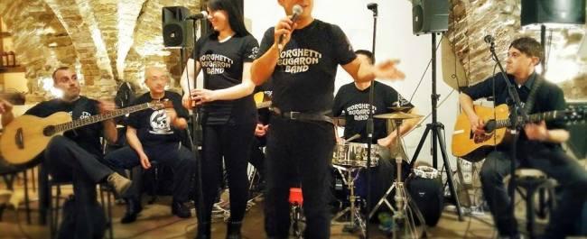 Borghetti Bugaron Band Live Caicco
