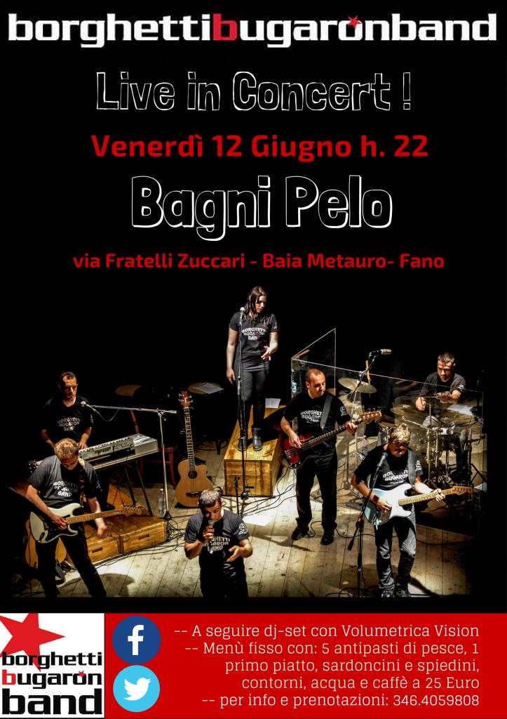 "Borghetti Bugaron Band ""Vien Giù a marina"" - Bagni Pelo"