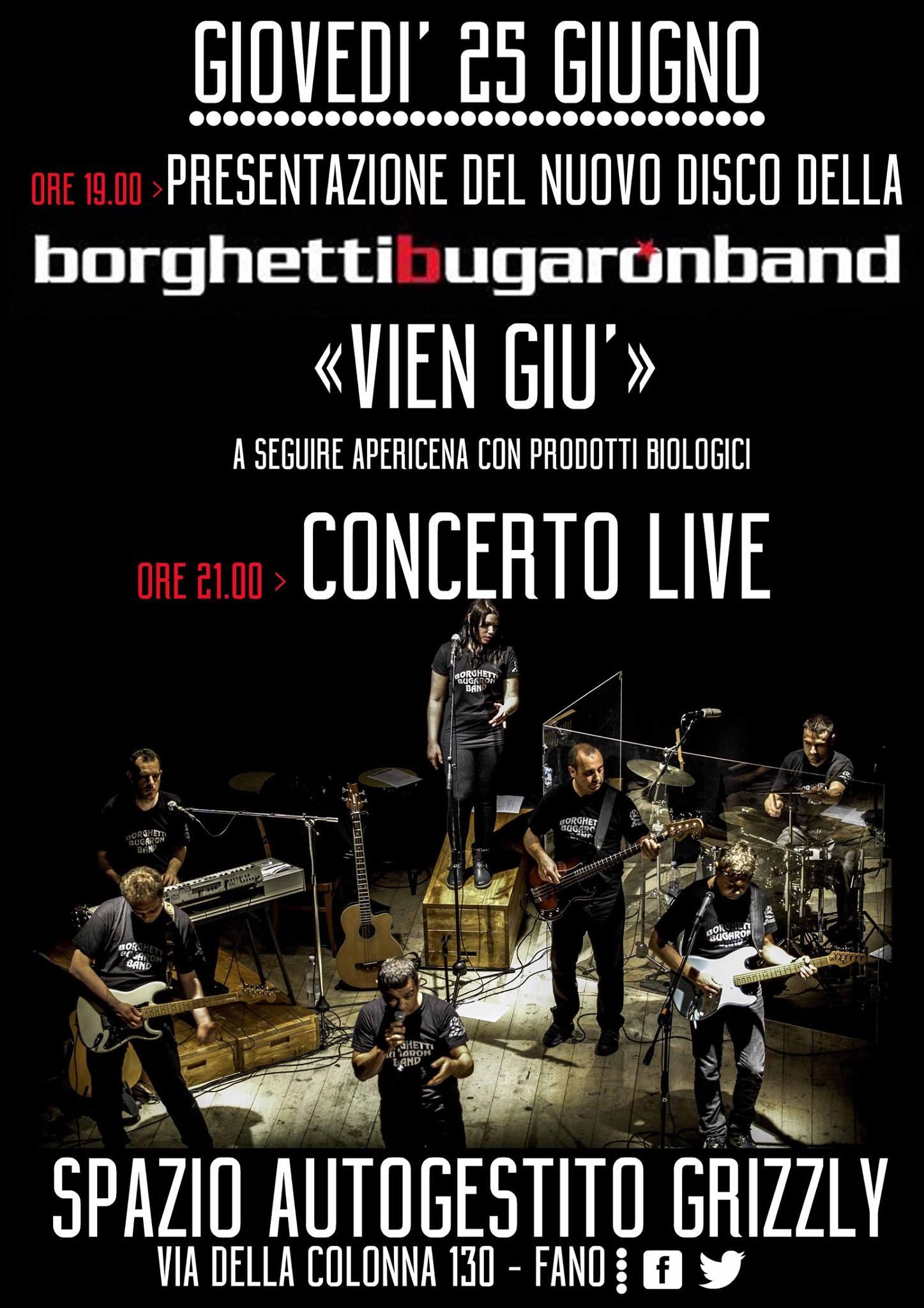 """Vien Giù"" live @ Grizzly Fano"
