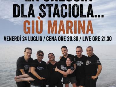 Borghetti Bugaron Band concerto Live @ Bagni Gabriele - 2015