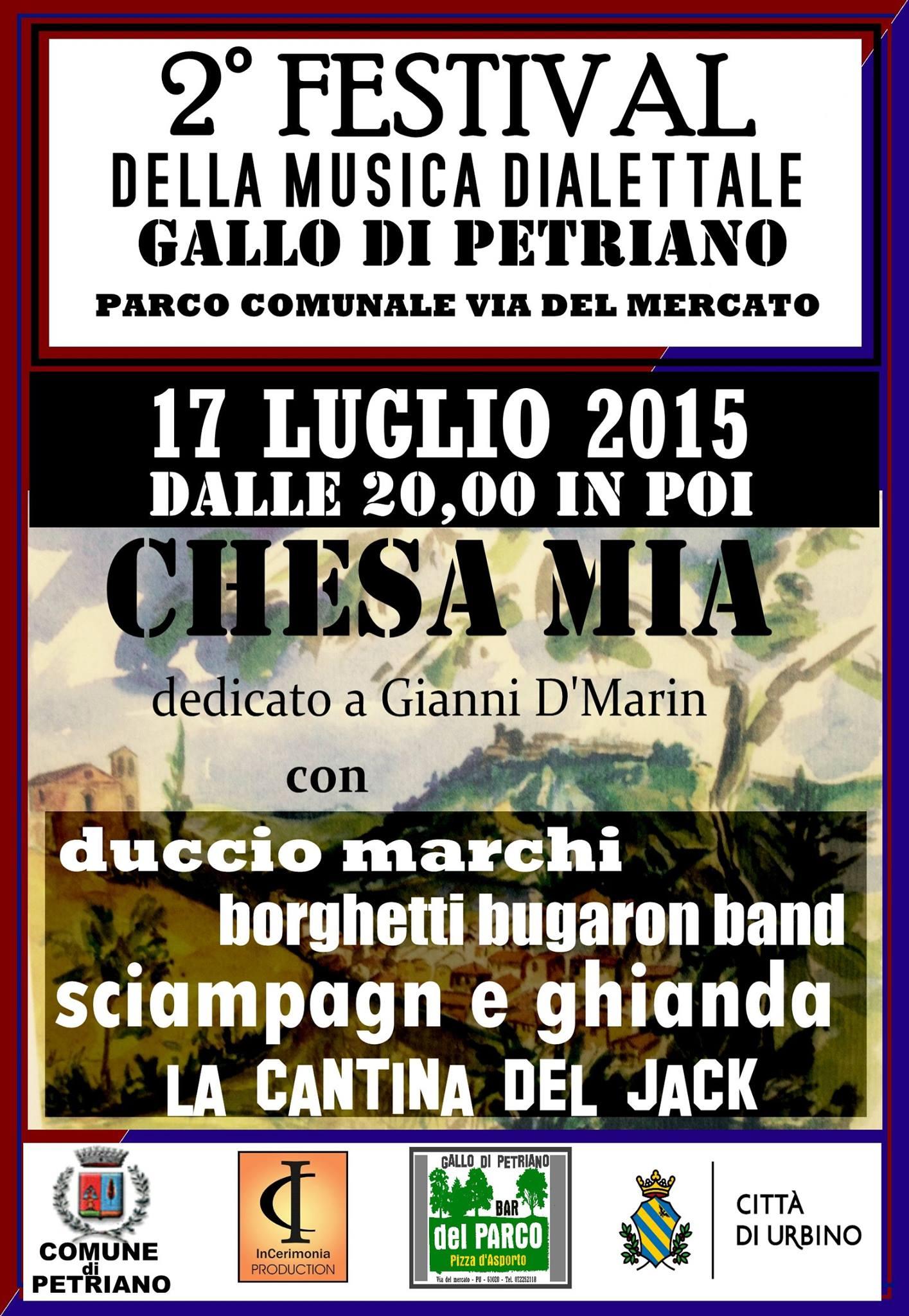 Festival Della Musica Dialettale 2015 - Borghetti Bugaron Band