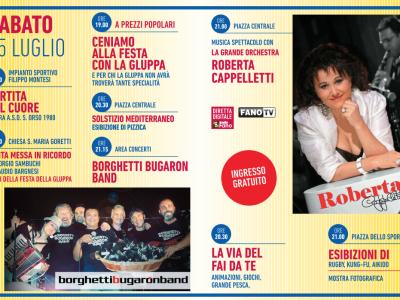 Borghetti Bugaron Band @ Festa della Gluppa 2015