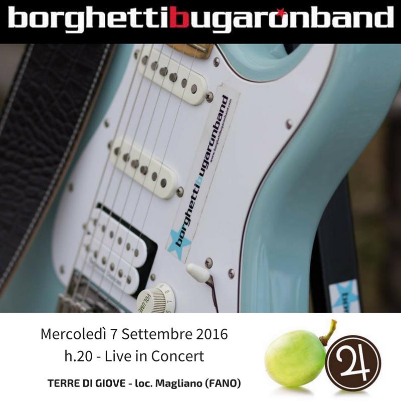 Borghetti Bugaron Band di nuovo a Terre di Giove (Fano)