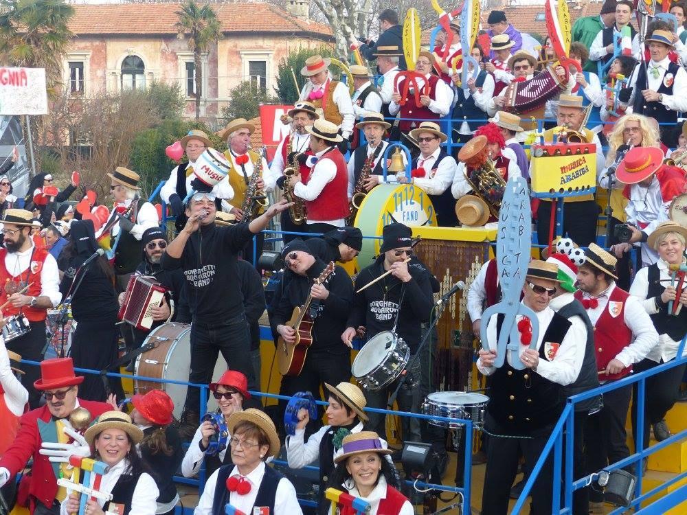 Borghetti Bugaron Band e Musica Arabita