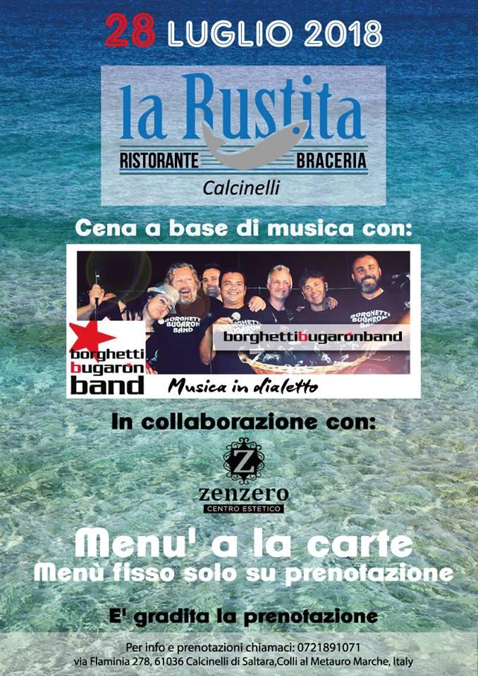 Borghetti Bugaron Band live a la Rustita!