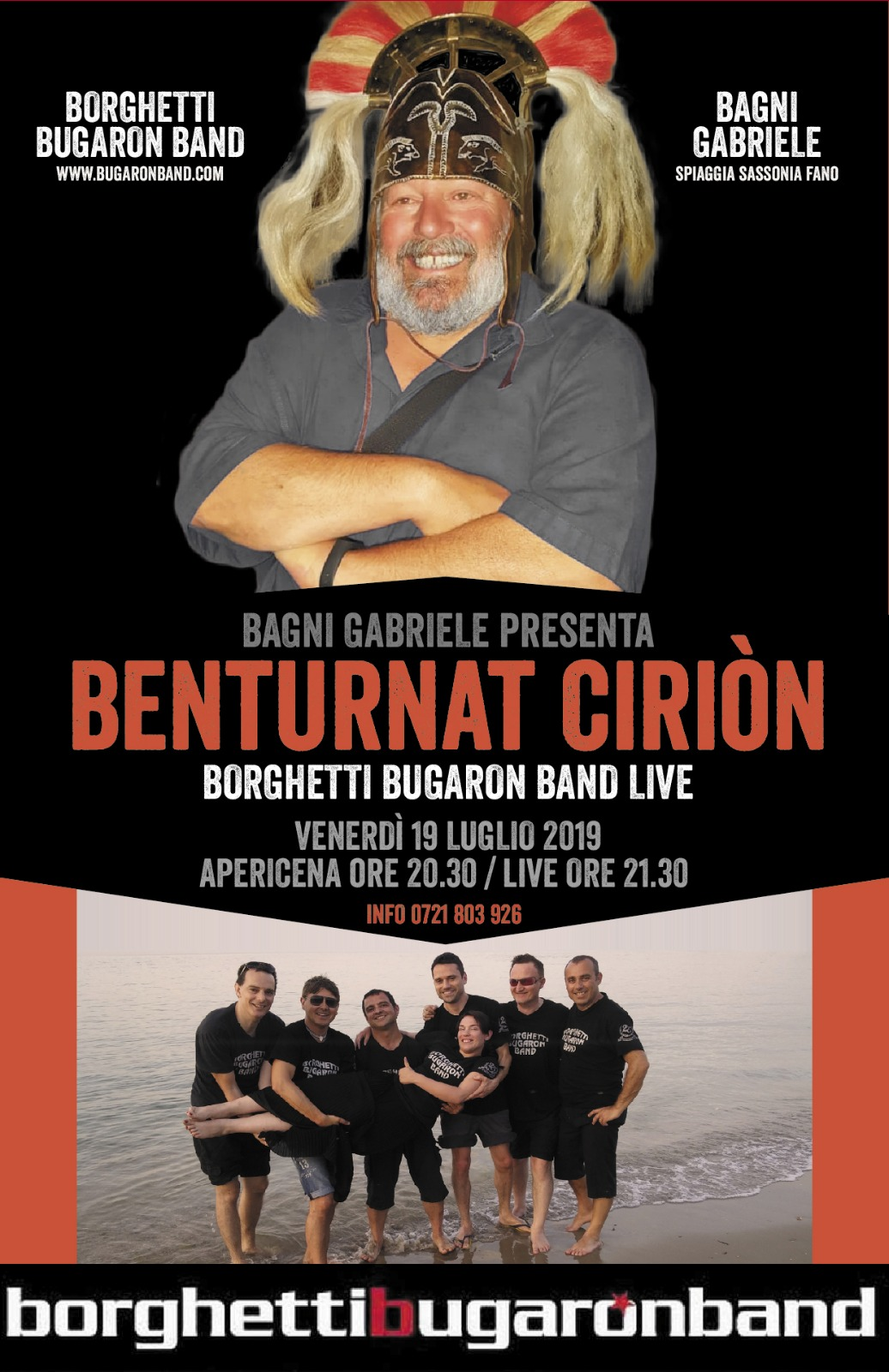 Bugaron live - Bagni Gabriele 2019