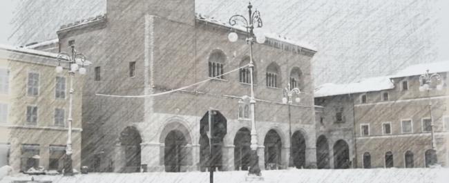 Borghetti Bugaron Band in omaggio alla neve (Fano)